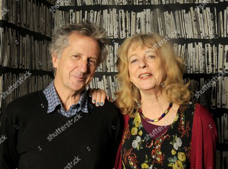 Stock Image of Authors Blake Morrison & Deborah Moggach