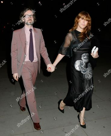 Jarvis Cocker and Kim Sion
