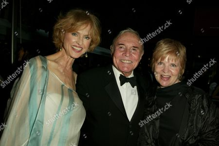 Jill Larson, James Mitchell and Gillian Spencer