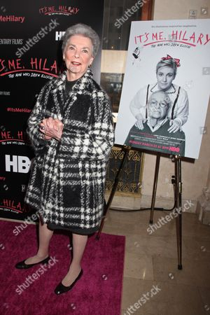Stock Photo of Betty Halbreich, Bergdorf Goodman's infamous personal shopper