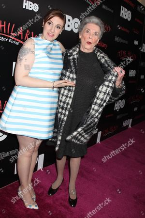 Lena Dunham and Betty Halbreich