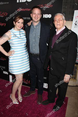 Lena Dunham, Matt Wolf, Director and Hilary Knight, illustrator