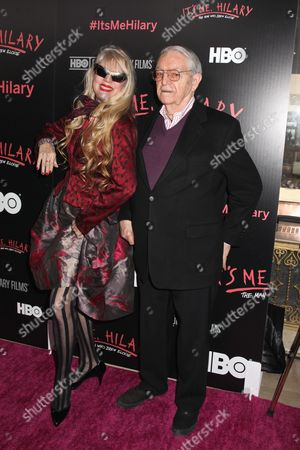 Stock Photo of Phoebe Legere and Hilary Knight, illustrator of Eloise