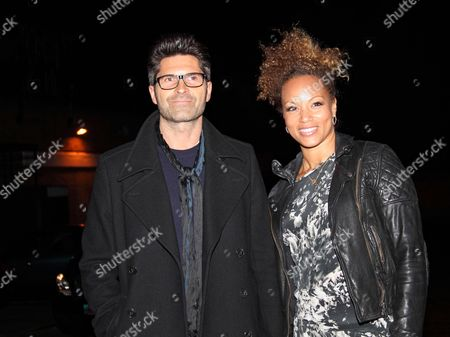 Angela Griffin and Jason Milligan
