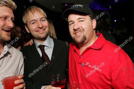 Poker Players Daniel NeGreanu and Chris Moneymaker