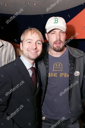Daniel NeGreanu and Ben Affleck
