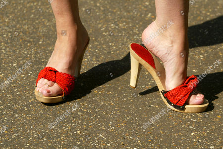 Shoes made from salmon skin
