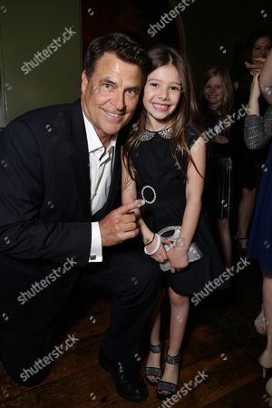 Ted McGinley and Makenzie Moss