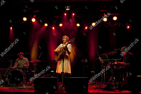 The U.S. singer-songwriter Laura Gibson live at the Schueuer concert hall, Lucerne, Switzerland
