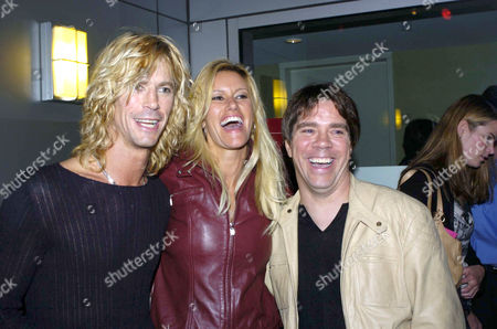 DUFF MCKAGEN, SUSAN HOLMS AND ANDY HILFIGER
