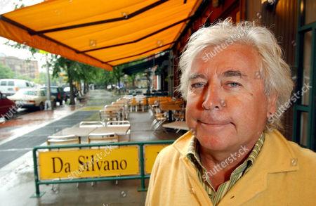 Stock Picture of Restaurant owner Silvano Marchetto