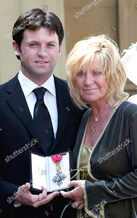 Adam Gibb who received a CBE on behalf of his father, the late Maurice Gibb