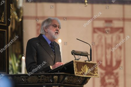 Stock Picture of Lord David Putnam CBE gives The Address.