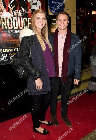 Stock Photo of Rebecca Adlington and husband Harry Needs