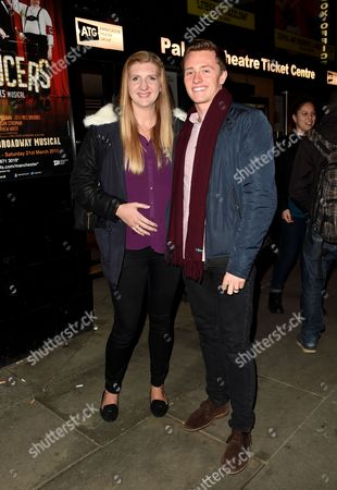 Stock Picture of Rebecca Adlington and husband Harry Needs