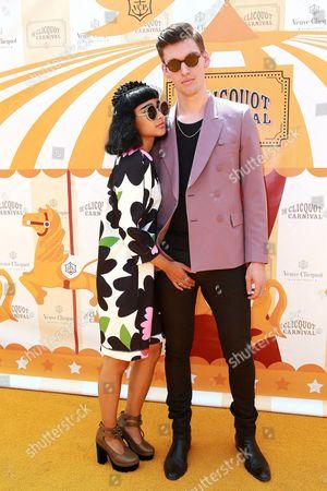 Stock Image of Natalia Kills and Willie Moon