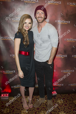 Nadine Coyle (Erin the Goddess) and James Ingham