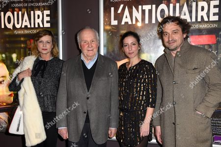 Stock Picture of Fabienne Babe, Michel Bouquet, Anna Sigalevitch and Louis-Do de Lencquesaing