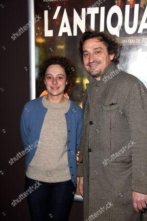 Louis-Do de Lencquesaing and his daughter Alice de Lencquesaing