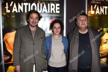 Editorial image of 'L'Antiquaire' film premiere, Paris, France - 17 Mar 2015