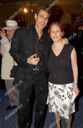 Uri Geller and wife