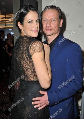 Bettina Zimmermann and Victor Schefe