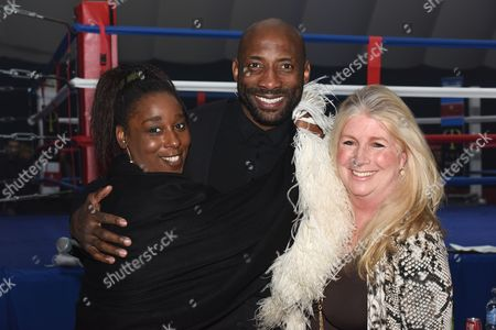 Johnny Nelson and Lura Forsyth and friend