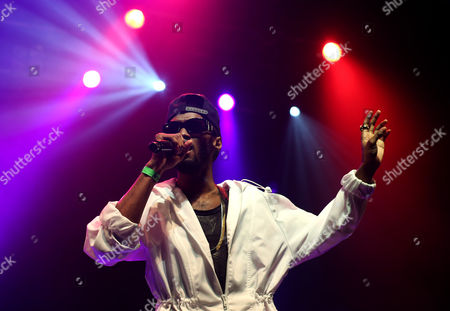 Editorial image of Omarion and support acts in concert, Koko, London, Britain - 16 Mar 2015