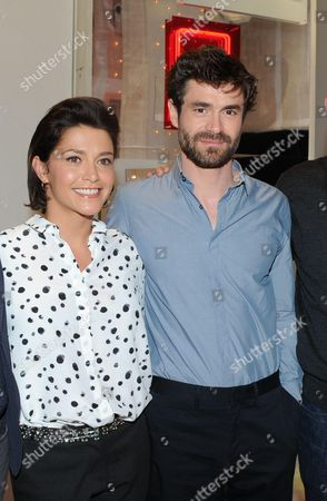 Stock Picture of Emma de Caunes, Yannick Renier