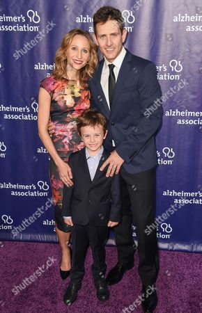 Barrett Williams, Joey McIntyre and son Griffin Thomas McIntyre