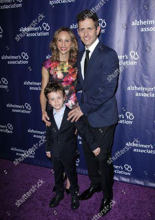 Barrett Williams, Joey McIntyre and son Griffin Thomas McIntyre