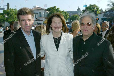 Tom Freston, Paramount's Sherry Lansing, Jonathan Dolgen