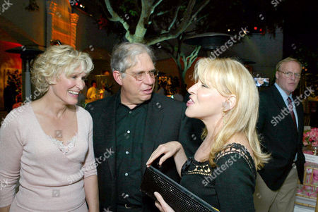 Glenn Close, Jonathan Dolgen and Bette Midler