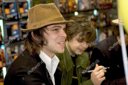 Gaz Coombes and Mick Quinn