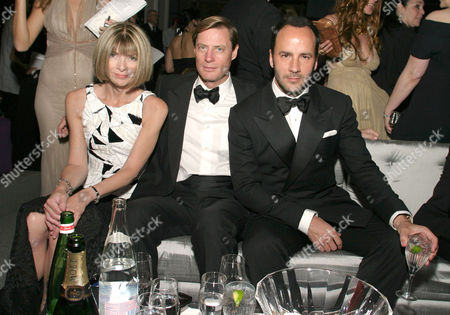 Anna Wintour, Shelby Bryan and Tom Ford