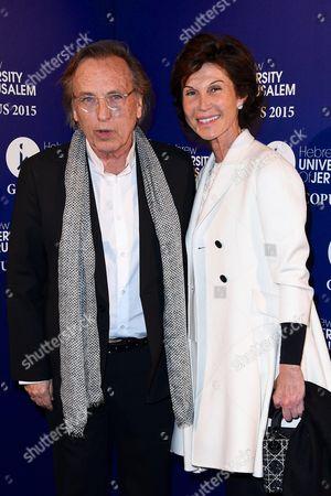 Alexandre Arcady and Sylvie Rousseau