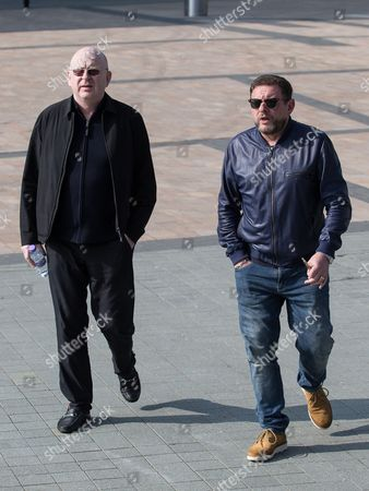 Alan McGee and Shaun Ryder