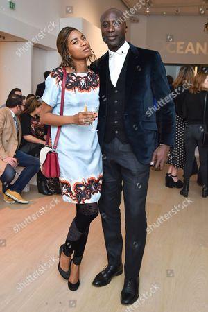Tolula Adeyemi and Ozwald Boateng