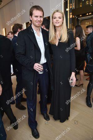 Stock Photo of Alan Pownall and Gabriella Wilde