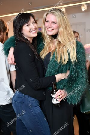 Stock Picture of Daisy Lowe and Chloe Hayward