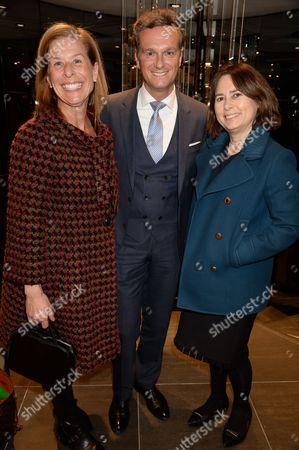 Jo Levin, Steohan Born and Alexandra Shulman,
