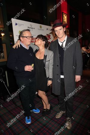 Jaime Winstone, James Suckling and Guest