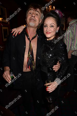 Glen Matlock and Zoe Devlin