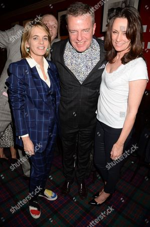 Stock Picture of Lucinda Garland, Suggs aka. Graham McPerson and Tricia Ronane