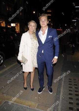 Katriona Perrett and Ben Hardy