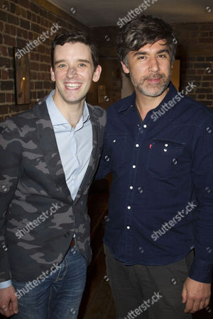 Michael Urie (Alex More) and James Lance