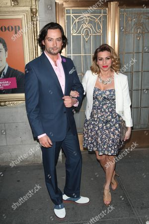 Constantine Maroulis and Angel Reed