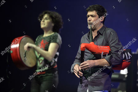 Stock Picture of Maria Jose Hevia and Jose Angel Hevia