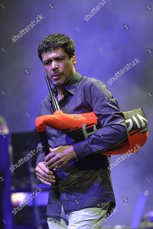 Editorial photo of Hevia in concert at Brancaccio Theatre, Rome, Italy - 18 Mar 2015