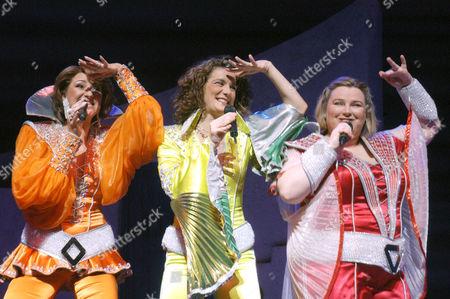 Kim Ismay, Vivien Parry, Lara Mulcahy